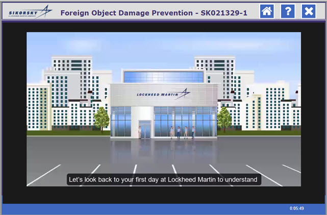 Foreign Object Damage