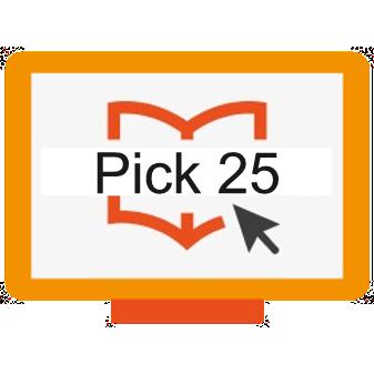 pick any 25 courses