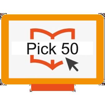pick any 50 courses